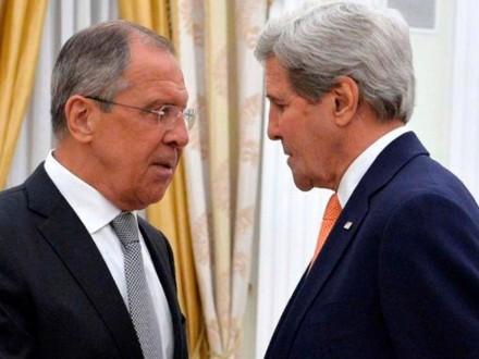 Лавров и Керри начали переговоры по Сирии
