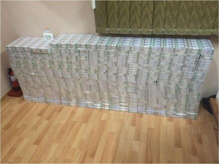 Чергова партія контрабанди: 7 тисяч пачок сигарет виявили закарпатські прикордонники
