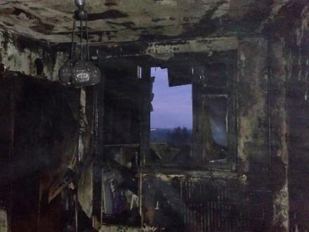 Пожар вдевятиэтажке вХарькове— есть жертвы