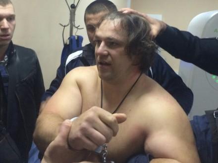 Задержанный в клинике Днепра «торнадовец» опровергает свою вину— милиция