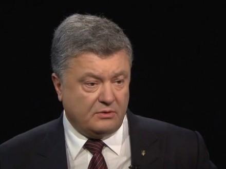 Порошенко: Наоккупированном Донбассе находится неменее 700 русских танков