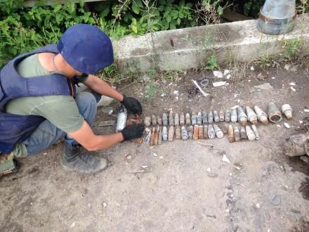 НаНиколаевщине пиротехники уничтожили 8 взрывоопасных предметов времен прошедших войн
