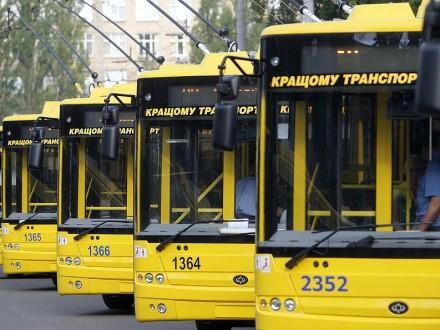 УКиєві зміниться робота двох маршрутів тролейбусів (схема)