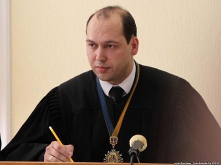 Судью С.Вовка отстранили надва месяца отдолжности