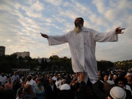 ВУмани хасидов будут охранять полицейские Израиля