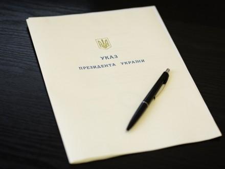 Президент нагородив 55 українських військовослужбовців орденами і медалями