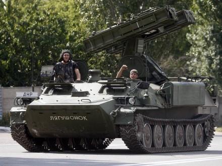 Бойовики відмовились везти з РФ зенітно-ракетні комплекси до Донбасу