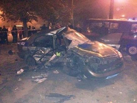 Из-за происшествия надороге с нетрезвым наМерседесе погибли 2 полицейских