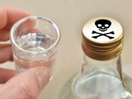 Кількість померлих від вживання сурогатної горілки зросла досорока