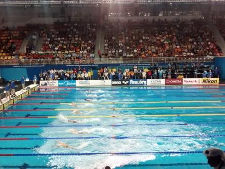 Д.Зевіна здобула «срібло» наетапі Кубка світу зплавання уКитаї