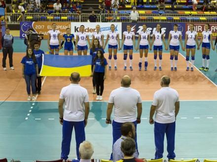 Сборная Украины поволейболу вышла наЕвро