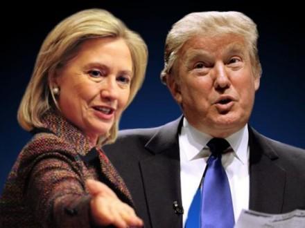 Клінтон випереджає Трампа на5% - опитування