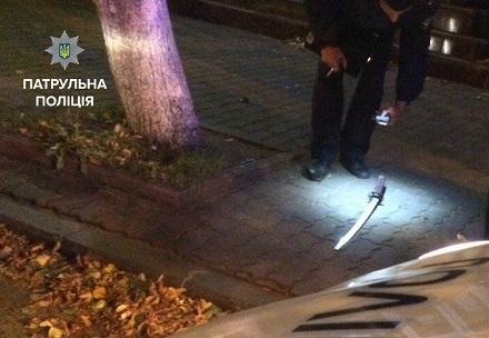 Патрульные оперативно задержали правонарушителя, который стрелял вкременчужанина