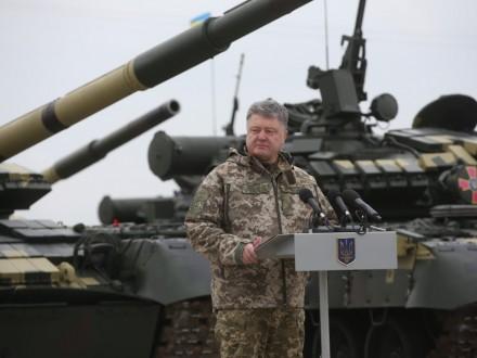 Украинская армия перейдет наконтрактную основу вконце октября— Порошенко