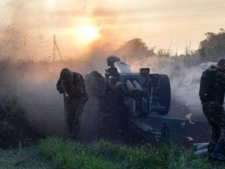 Бойовики 18 разів обстріляли позиції сил АТО наДонбасі - штаб