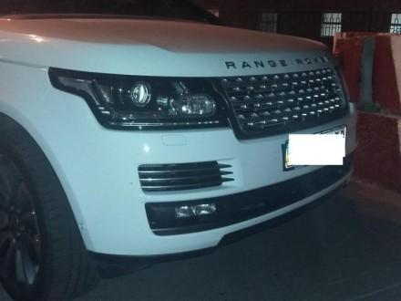 Украинка пробовала вывезти в РФ угнанный Range Rover