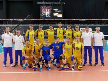 Сборные Украины узнали соперников вквалификации кчемпионату мира поволейболу