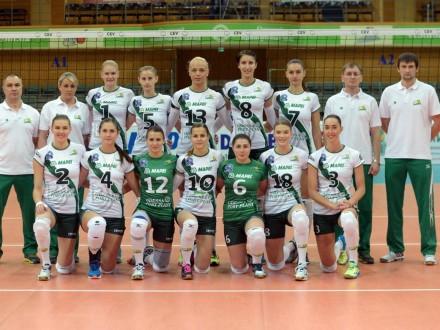 Волейболистки «Динамо» обыграли «Химик» вматче 2-го квалификацонного раундаЛЧ