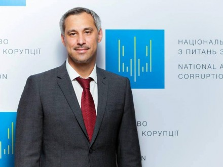 Столичная генпрокуратура закрыла дело вотношении члена НАПК Р.Рябошапки