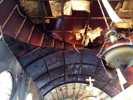 Воккупированном ВСУ Мариуполе неизвестные спалили церковь