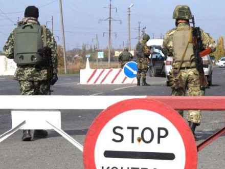 НаКПВВ «Майорск» из-за обстрела боевиков сгорели две машины