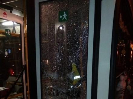 ВДнепре обстреляли троллейбус