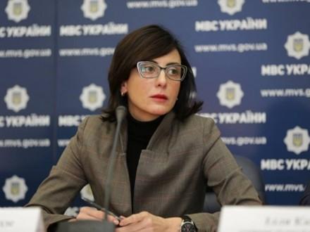 Председатель Национальной полиции Украины Хатия Деканоидзе ушла в отставку