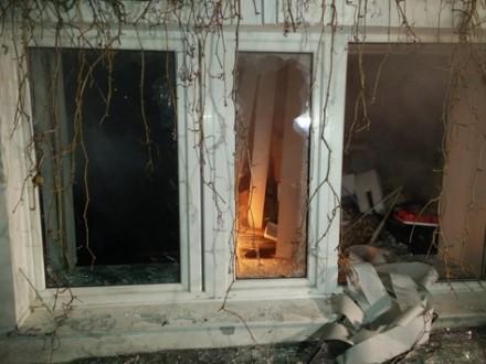 Вместо офиса В.Медведчука активисты разбили салон красоты - очевидцы