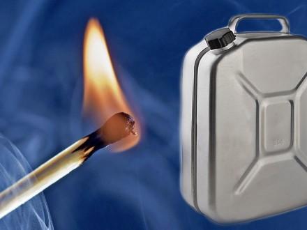 Чоловік, який облив себе бензином та підпалив, помер у лікарні на Херсонщині