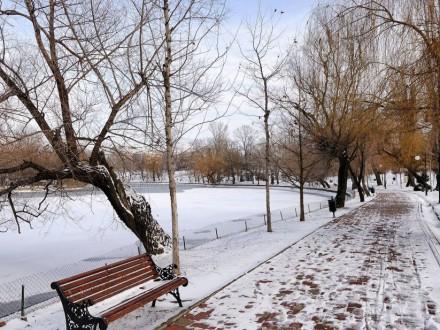 Завтра вКиеве предполагается туман имокрый снег