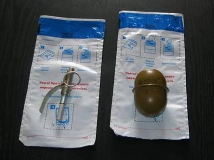 Правоохранители обнаружили гранату вмусорном баке вКиеве