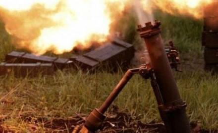 Засутки противник 28 раз обстрелял позиции сил АТО