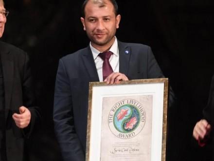 ВШвеции вручили награду представителям Российской Федерации, Сирии, Египта иТурции