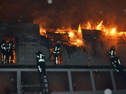В Одессе произошел пожар в новостройке