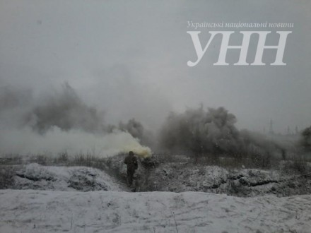 ВХмельницкой обл. впроцессе учений наполигоне подорвались трое военных