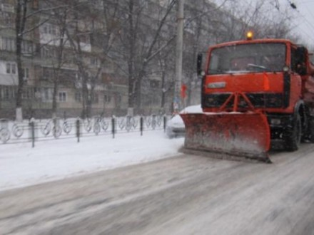 ВКГГА поведали, как убирают Киев отснега