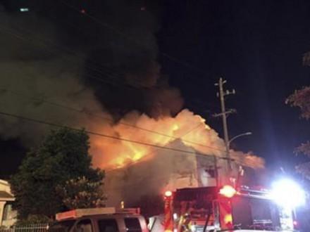 Пожар нарейв-вечеринке вОкленде: число погибших возросло до33