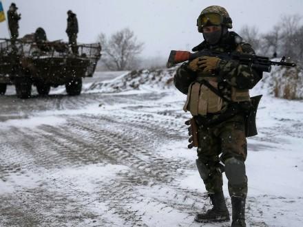 Боевики избивали повсем направлениям, всего 25 обстрелов— АТО