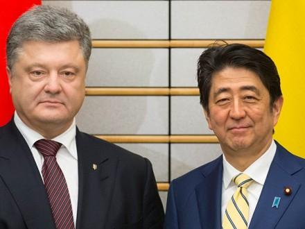 Порошенко ипремьер Японии осудили бесчинства РФ вКрыму