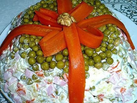 Приготовление новогоднего «Оливье» обойдется россиянам от179руб. до224 руб