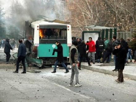 Нападение совершил террорист-смертник— Теракт вТурции