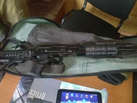 866268749634 telegraf.com.ua Киевлянина с арсеналом оружия задержали на блокпосту в  Донецкой области