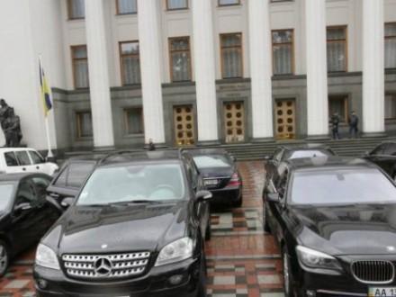 ВВР проводится аудит парламентского автопарка— А.Парубий