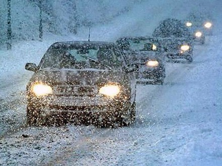 Cотрудники экстренных служб предупредили киевских водителей огололеде