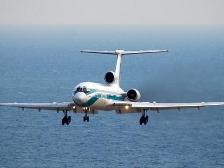 Размещены первые фото сместа крушения Ту-154 Минобороны