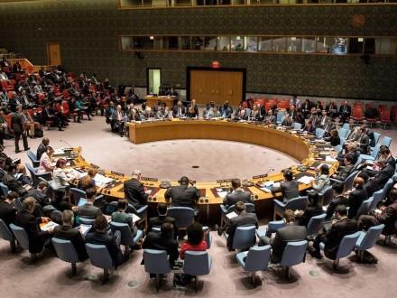 Совбез ООН единогласно принял разработаннуюРФ иТурцией резолюцию поСирии