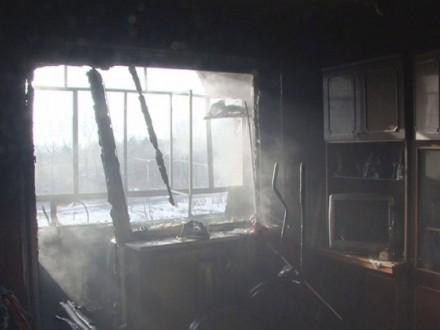 ВоЛьвове горел балкон многоэтажки, 50 человек были эвакуированы
