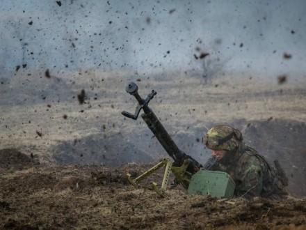 Боевики врайоне Мариуполя использовали артиллерию иминометы