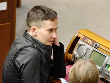 Надежда Савченко уточнила доэтого  опубликованные списки пленных