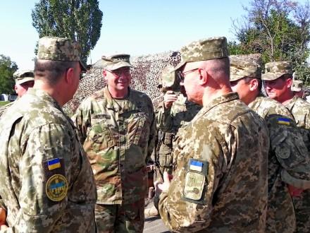 ВС США создадут центр боевой подготовки украинских войск